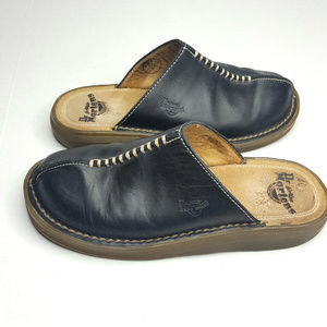 Dr Martens AirWair Black Leather Mules Size 5
